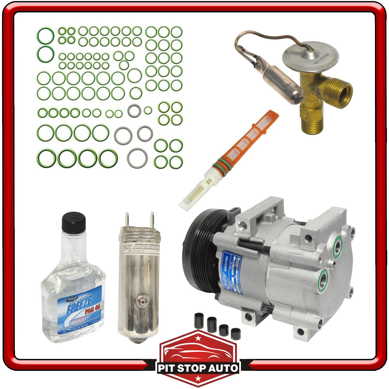 Image Is Loading New A C Compressor Kit Kt 1636 4f2z19703ab Freestar